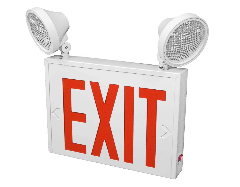 Exit 1- 2 Lamp