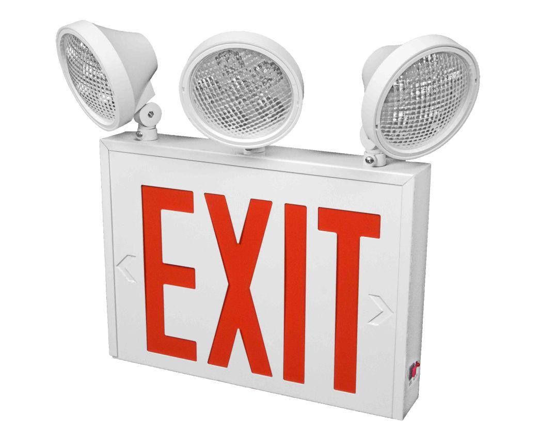 Exit 1 - 3 Lamp