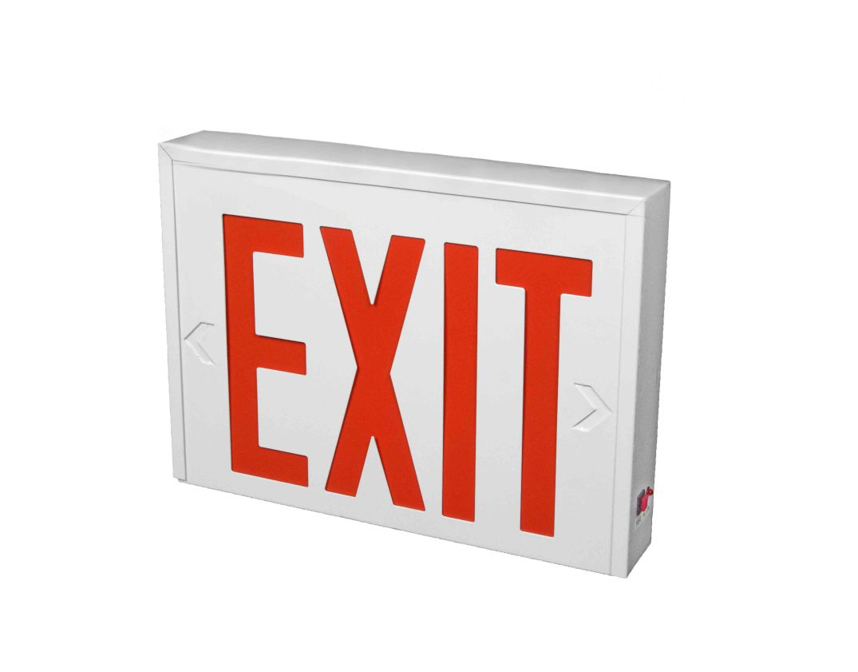 Exit 1 no lamp