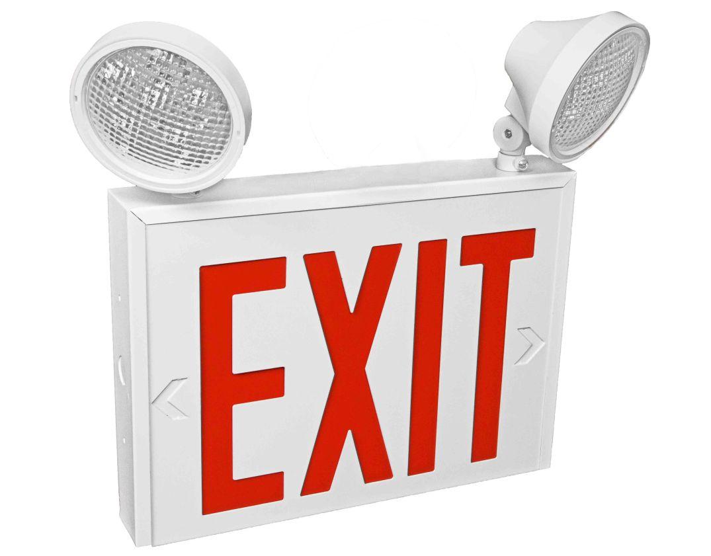 Exit 2- 2 Lamp