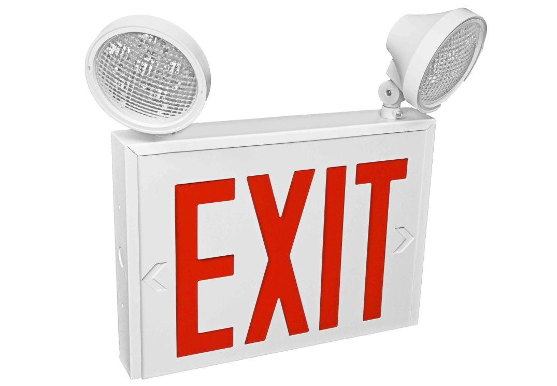 Exit 2- 2 lights