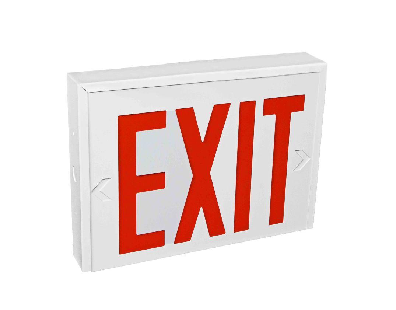 Exit 2 no lamp